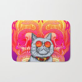 Natural Born Kittens Bath Mat