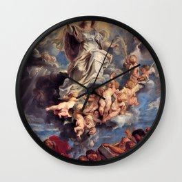 Pieter-Paul Rubens; Assumption of the Devine and Holy Virgin Mary Wall Clock