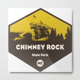 Chimney Rock State Park, North Carolina Metal Print
