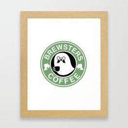 Brewsters Coffee  Framed Art Print