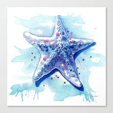 Starfish Waters I Canvas Print