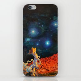 Earth Gazer iPhone Skin