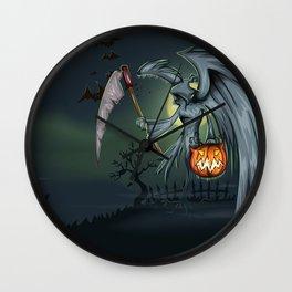 Halloween Spooky Never Summon You Cannot Banish Wall Clock