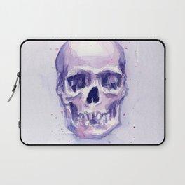 Skull Watercolor Skulls Laptop Sleeve