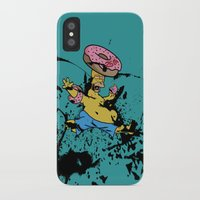 simpsons iPhone & iPod Cases featuring Simpsons 25th by sinonelineman