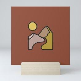 Simple Landscape Mini Art Print