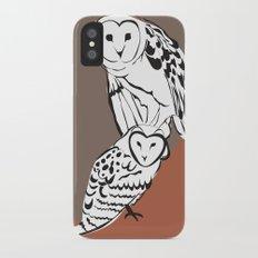 Owls Slim Case iPhone X