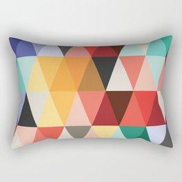 Mid-Century Modern Color Story Rectangular Pillow