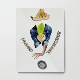 Dropping Expectations Metal Print