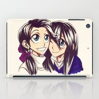 sisters iPad Cases featuring Sisters by TrueLoveStory