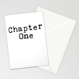 Chapter One (Typewriter) Stationery Cards