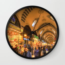 Spice Bazaar Istanbul Wall Clock