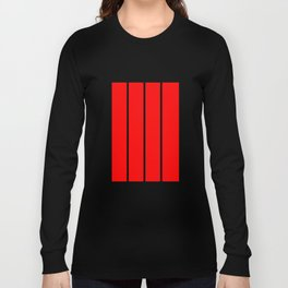 Scarlet Panels Long Sleeve T-shirt