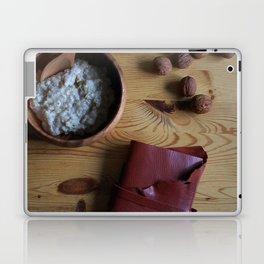 Book and oatmeal Laptop & iPad Skin