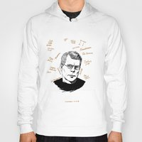 stephen king Hoodies featuring Stephen King by darkscrybe