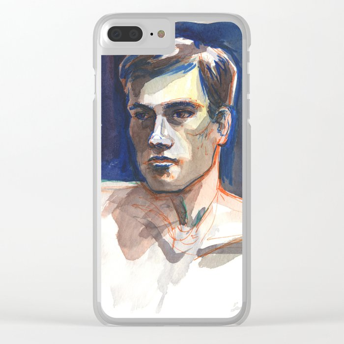 JAMES, Semi-Nude Male by Frank-Joseph Clear iPhone Case