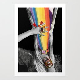 Photon Inertia Art Print