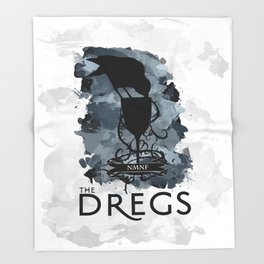 Six of Crows - The Dregs Throw Blanket