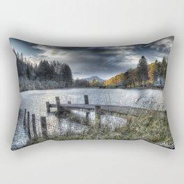 Blue Loch Ard Rectangular Pillow