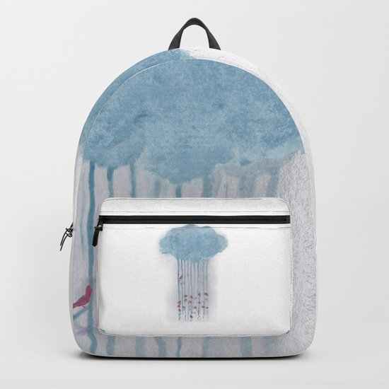 Rain in the woods Backpack