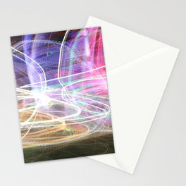 Carnival Lights Stationery Cards