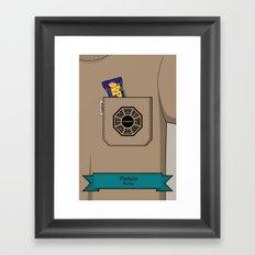 Pockets - Hurley - Framed Art Print