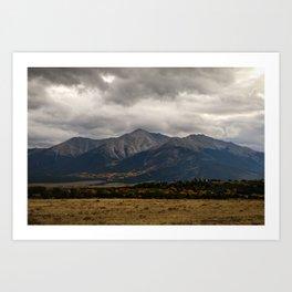 Mt Yale Art Print