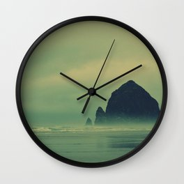 Haystack rock... Wall Clock