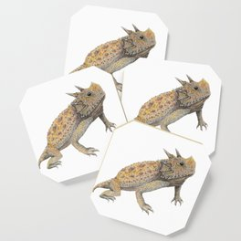Horned Lizard Coaster