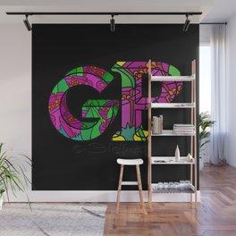 Initialen GP Wall Mural