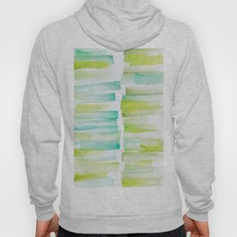 6 | 181101 Watercolour Palette Abstract Art | Lines | Stripes | Hoody