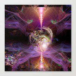 The Awakened Heart Canvas Print