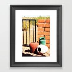 By The Gate Framed Art Print
