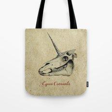 Equus Cornualis Tote Bag