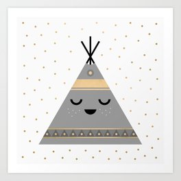 Little Tipi Art Print