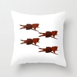 Sweet Potato Sea Throw Pillow