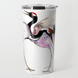 Japanese Crane Travel Mug