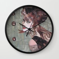 Taupe Wall Clock