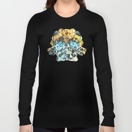 Bumblebee Low Poly Portrait Long Sleeve T-shirt