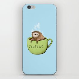 Sloffee Steam iPhone Skin