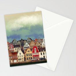 House, Bruges, Belgium Stationery Cards
