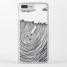 Narwhale Clear iPhone Case