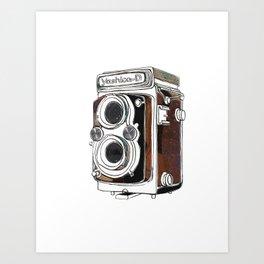 Yashica Camera Art Print