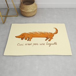 This is not a baguette Rug