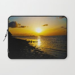 Seashore Serenity at Sunset Laptop Sleeve