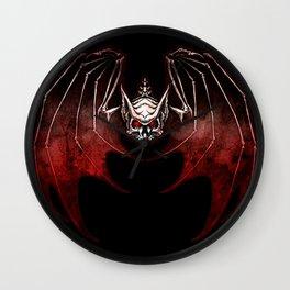 Thee Vampire Guild Bat Icon Wall Clock