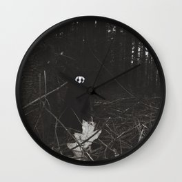 Woe in the dark forest~ Wall Clock