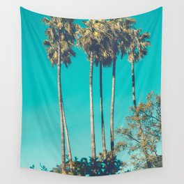 A Few Turquoise Palms Wall Tapestry