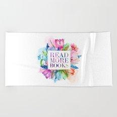 Read More Books Pastel Beach Towel