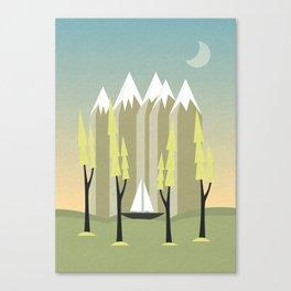 Sailing, Spring Canvas Print